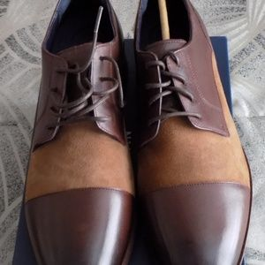 Cole Haan Brown Henry Grand Two Tone 11.5